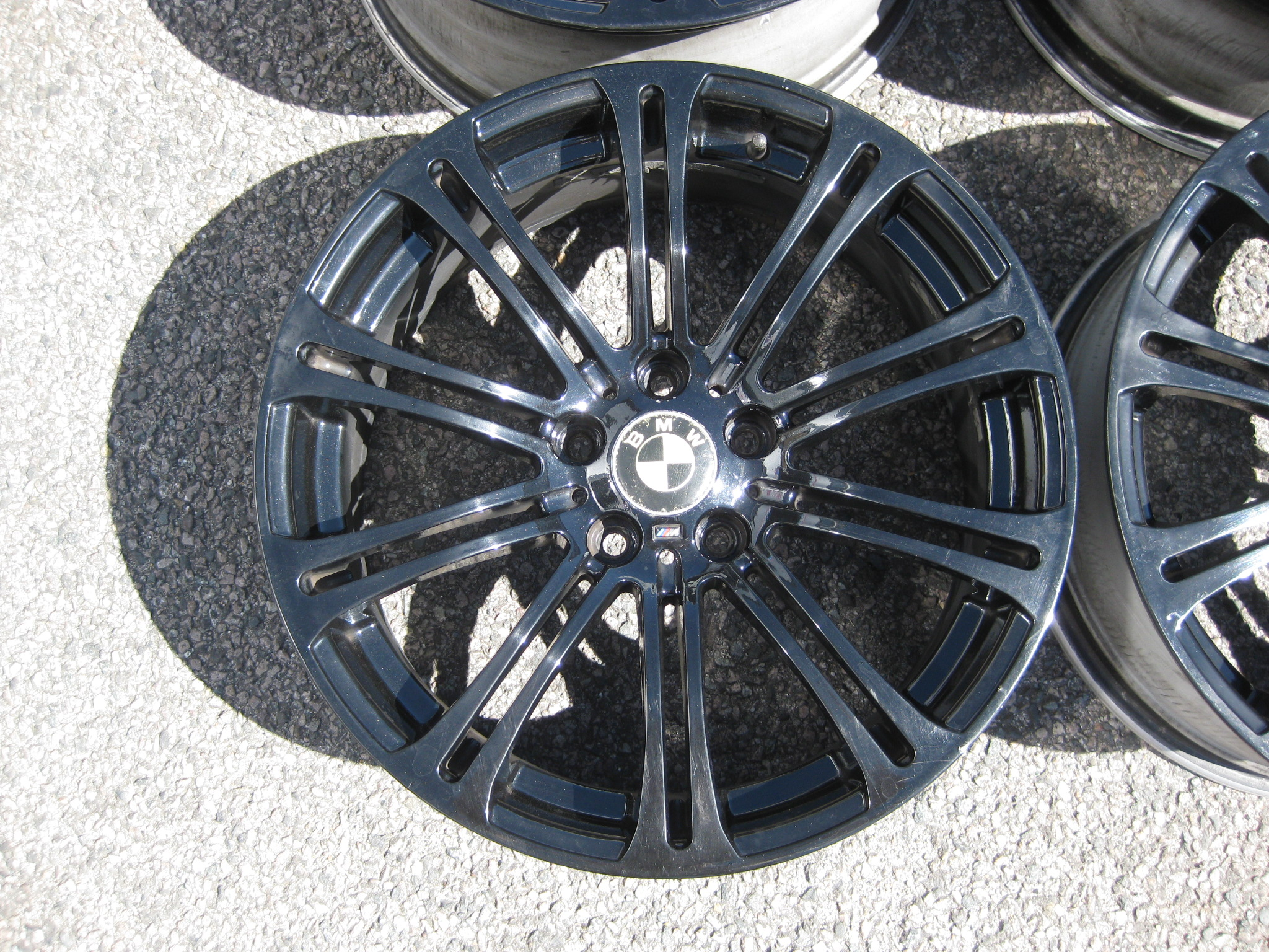 "USED 19"" WSP ITALY STYLE 220 E92 M3 STYLE ALLOY WHEELS,WIDE REAR,GOOD CONDITION"